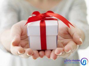 هدیه دادن برای افزایش فروش